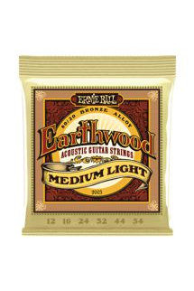 Ernie Ball PO2003 Earthwood 80/20 Bronze Medium Light Acoustic Strings