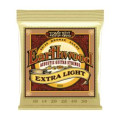 Ernie Ball PO2006 Earthwood 80/20 Bronze Extra Light Acoustic StringsPO2006 Earthwood 80/20 Bronze Extra Light Acoustic Strings