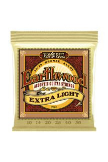 Ernie Ball PO2006 Earthwood 80/20 Bronze Extra Light Acoustic Strings