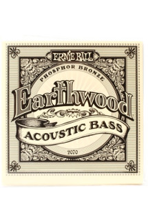 Ernie Ball PO2070 Earthwood Phosphor Bronze Acoustic Bass Strings