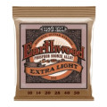 Ernie Ball PO2150 Earthwood .010-.050 Extra Light Phosphor Bronze Acoustic Strings