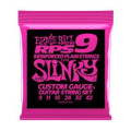 Ernie Ball RPS-9 Super Slinky Nickel Wound Reinforced Plain Steel Electric Strings