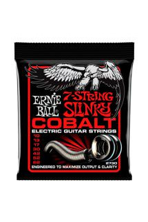 Ernie Ball 2730 Cobalt 7-string Skinny Top/Heavy Bottom Electric Strings