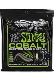 Ernie Ball 2736 Cobalt Regular Slinky 5-String Bass Strings