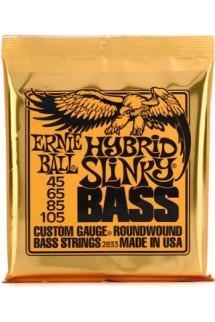 Ernie Ball 2833 Hybrid Slinky Roundwound Bass Strings