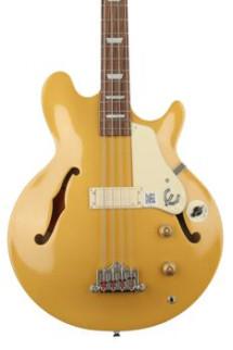 Epiphone Jack Casady Artist Series Signature Bass - Metallic Gold