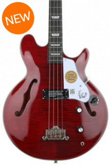 Epiphone 20th Anniversary Jack Casady Bass - Wine Red