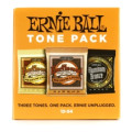 Ernie Ball Medium Light Acoustic Guitar Tone Pack