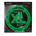 D'Addario ECB80SL Chromes Flatwound Long Scale Super Light Bass Strings