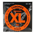 D'Addario ECG23 Chromes Flatwound Extra Light Electric StringsECG23 Chromes Flatwound Extra Light Electric Strings