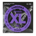 D'Addario ECG24 Chromes Flatwound Jazz Light Electric StringsECG24 Chromes Flatwound Jazz Light Electric Strings