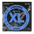 D'Addario ECG25 Chromes Flatwound Light Electric StringsECG25 Chromes Flatwound Light Electric Strings