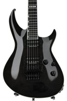 ESP E-II Horizon III Flame Maple Top with Floyd Rose - See-Thru Black