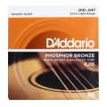 D'Addario EJ15 Phosphor Bronze Extra Light Acoustic StringsEJ15 Phosphor Bronze Extra Light Acoustic Strings