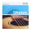 D'Addario EJ16 Phosphor Bronze Light Acoustic StringsEJ16 Phosphor Bronze Light Acoustic Strings