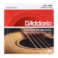 D'Addario EJ17 Phosphor Bronze Medium Acoustic Strings