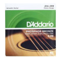 D'Addario EJ18 Phosphor Bronze Heavy Acoustic Strings
