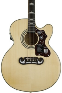 Epiphone EJ-200SCE Southern Jumbo Acoustic Electric - Natural