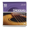D'Addario EJ26 Phosphor Bronze Custom Light Acoustic Strings 10-PackEJ26 Phosphor Bronze Custom Light Acoustic Strings 10-Pack