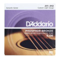 D'Addario EJ26 Phosphor Bronze Custom Light Acoustic StringsEJ26 Phosphor Bronze Custom Light Acoustic Strings