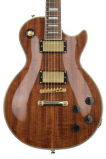 Epiphone Les Paul Custom Pro Koa - Natural