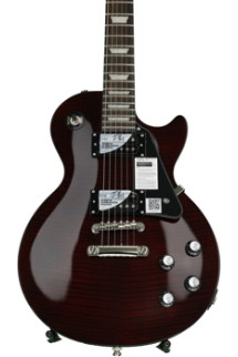 Epiphone Les Paul Classic-T with Min-ETune - Black Cherry