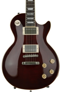 Epiphone Les Paul Tribute Plus, Bone Nut Upgrade, Plek'd - Black Cherry