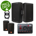 JBL EON612 PA Package - with goRack and CoversEON612 PA Package - with goRack and Covers