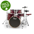 Pearl E-Pro Powered by Export Lacquer 5 Piece Electronic Drum Set Fusion - Natural CherryE-Pro Powered by Export Lacquer 5 Piece Electronic Drum Set Fusion - Natural Cherry