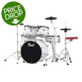 Pearl E-Pro Powered by Export 5-pc Electronic Drum Set Standard - Pure WhiteE-Pro Powered by Export 5-pc Electronic Drum Set Standard - Pure White