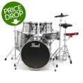Pearl E-Pro Powered by Export 5-pc Electronic Drum Set Standard Fusion - Smokey ChromeE-Pro Powered by Export 5-pc Electronic Drum Set Standard Fusion - Smokey Chrome