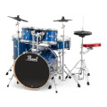 Pearl E-Pro Powered by Export 5-pc Electronic Drum Set Fusion - Blue SparkleE-Pro Powered by Export 5-pc Electronic Drum Set Fusion - Blue Sparkle