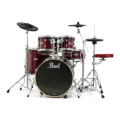 Pearl E-Pro Powered by Export 5-pc Electronic Drum Set Fusion - Red WineE-Pro Powered by Export 5-pc Electronic Drum Set Fusion - Red Wine