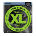 D'Addario ProSteel EPS300-5 Light Top Medium Bottom Super Bright 5-String Bass StringsProSteel EPS300-5 Light Top Medium Bottom Super Bright 5-String Bass Strings