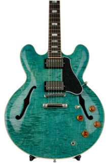 Gibson Memphis ES-335 Figured - Turquoise