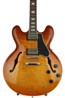 Gibson Memphis ES-335 Premiere Figured - Faded Lightburst