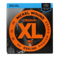 D'Addario ESXL160 Double Ball Nickel Wound Long Scale Medium Bass Strings