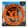 D'Addario EXL110-7 Nickel Wound Light 7-String Electric StringsEXL110-7 Nickel Wound Light 7-String Electric Strings