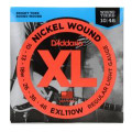 D'Addario EXL110W Nickel Wound Light (wound 3rd) Electric StringsEXL110W Nickel Wound Light (wound 3rd) Electric Strings