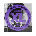 D'Addario EXL115-3D Nickel Wound Blues/Jazz Rock Electric Strings 3-PkEXL115-3D Nickel Wound Blues/Jazz Rock Electric Strings 3-Pk