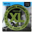 D'Addario EXL117 Nickel Wound Medium Top/Extra-Heavy Bottom Electric StringsEXL117 Nickel Wound Medium Top/Extra-Heavy Bottom Electric Strings