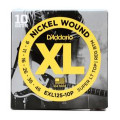 D'Addario EXL125 Nickel Wound Super Light Top/Regular Bottom Electric Strings 10-Pack