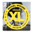 D'Addario EXL125-3D Nickel Wound Super Light Top/Regular Bottom Electric Strings 3-Pack