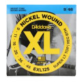 D'Addario EXL125 Nickel Wound Super Light Top/Regular Bottom Electric Strings