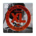 D'Addario XL140 Nickel Wound Light Top/Heavy Bottom Electric Strings 10-Pk