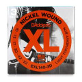 D'Addario EXL140-3D Nickel Wound Light Top/Heavy Bottom Electric Strings 3-Pk