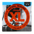 D'Addario EXL140-8 Nickel-wound Electric Guitar Strings - Light Top/Heavy Bottom 8-string