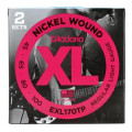 D'Addario EXL170TP Nickel Wound Long Scale Light Bass Strings 2-PackEXL170TP Nickel Wound Long Scale Light Bass Strings 2-Pack