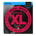 D'Addario EXL170-6 Nickel Wound Long Scale Light 6-String Bass Strings
