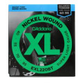 D'Addario EXL220BT Balanced Tension Nickel Wound Extra Light Bass Strings